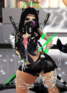 linda Captured Inside IMVU - Join the Fun!