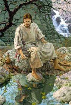 Living Water by Roger Loveless ~ Jesus