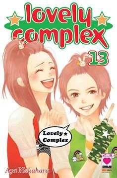 Lovely Complex, Manga Covers, Shoujo, Anime, Fictional Characters, Art, Art Background, Kunst, Cartoon Movies
