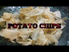 POTATO CHIPS - YouTube Snack Recipes, Cooking Recipes, Snacks, Potato Chips, Potatoes, Youtube, Food, Snack Mix Recipes, Appetizer Recipes