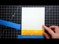 card making video: Distress Stamping ... water marking ... and layering die cuts ... great tips ...  Altenew