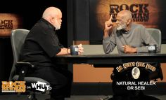 "DR SEBI on The Rock Newman Show.  Crazy Genius.  But his craziness doesn't negate his validity or results. His theory: treating malady with live or ""ELECTRIC"" carbon based foods."