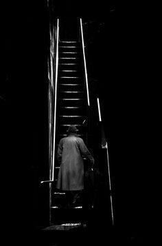 Narrow stairs by makoto saito