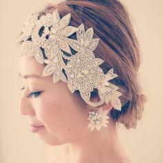 @user a.b.ellieのPRIYAヘッドピースとAliceイヤリング、これからの花咲く季節にオススメのコーディネートです❤︎ #thetimelesslove #ブライダル #結婚式 #ウェディング小物 #花嫁 #bride #timelesslove