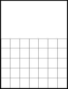 Printable Blank Calendar Template  Making This Month