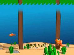 Um Peixinho no Mar - Escolinha de Musica 2 - YouTube