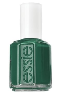 Essie #Nail Polish #Emerald #coloroftheyear---not a huge emerald fan, but I am a HUGE Essie fan.  I can rock this.