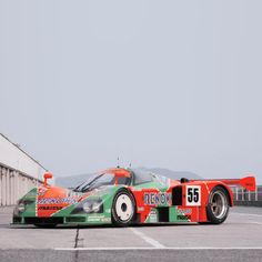Mazda 787B (1990) – The 787 and 787B are Group C racing cars that were built by Mazda for the World Sportscar Championship, All Japan Sports Prototype Championship, and the 24 Hours of Le Mans from 1990-1991. Designed to combine a mixture of the FISA Group C regulations with the International Motor Sports Association (IMSA) GTP regulations, the 787s were the last Wankel rotary-powered racing cars to compete in the World and Japanese championships, using Mazda's R26B engine.