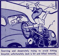 40's bicycle safety manual