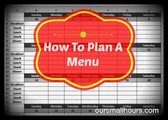 How To Make A Meal Plan I've written before that meal planning is essential to feeding a family on a budget. Without a menu plan, there is waste, either of food or of money or both. That's easy for me say, I've been making menu plans for years and am naturally inclined toward list-making, organizing anything that can't outrun me and generally exercising my control issues in socially acceptable ways.  Most of the time. Continue Reading →