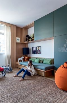Arthur Casas NY (Photo: Fran Parente) Related posts: room with Ikea furniture photography and styling by Victoria Brikho Lenefo.Gaspard Room amazing and imaginative spaces for kids will leave you wishing you could g. Teenage Room, Kids Room Design, Girl Room, Child's Room, Room Set, Nursery Room, Bedroom Decor, Bedroom Bed, Decorating Bedrooms