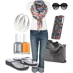 Summer Outfits for Women Over 40 | women-girl-casual-smart-wear-outfits-jeans-summer-spring-style-clothes ...