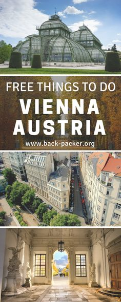 The best free things to do in beautiful Vienna, Austria. Take in the city's castles, buildings and palaces, visit free-entry museums, attend a free concert and more. Top places in Vienna that make for a bucket list worthy trip. Budget travel tips for your trip to Europe.  | Back-packer.org #Austria
