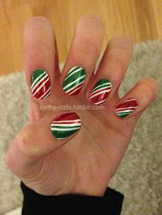 Christmas #nail #nails #nailart I'm so in the spirit for Christmas!! My favorite time of the year!!
