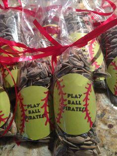 Softball treats for the team!