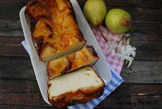 Tapitas y Postres: Bizcocho flan de peras (sin gluten y sin leche)