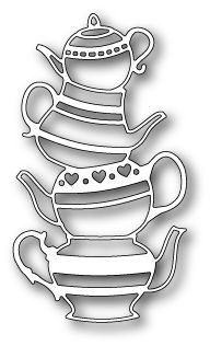 [1157] DIES- Teapot Stack