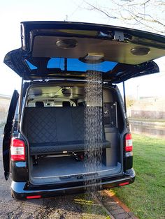 The Surf Shower | Recessed neatly in the tailgate, the styli… | Flickr