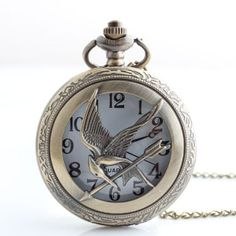 The Hunger Games Watch Necklace