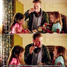 Alaric is a great dad