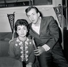 Annette Funicello and Bobby Darin, 1959.