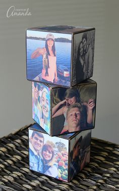 A photo cube is easy