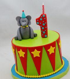 Circus Theme Smash Cake