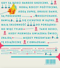 """H.Hoffmann, """"Złota różdżka""""/ niem. Struwwelpeter, proj., ilustr. Justyna Sokołowska, przeł. A. Bańkowska, K.Iwaszkiewicz, Z.Naczyńska, A.Pluszka, M. Rusinek, M. Wróbel. ArtEgmont, 2017"""