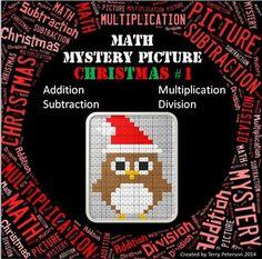 Christmas Math Myste