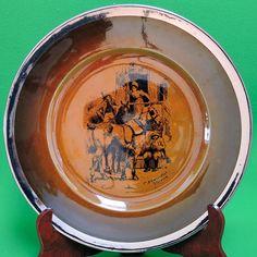 "Vintage (1920-1952) Ridgways (England) Decorative 10"" Plate, Coaching Days"