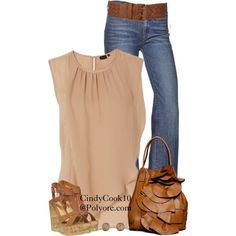 Pink and Browns, created by cindycook10 on Polyvore