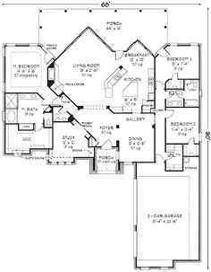 1000 images about houseplans 2600 2699 on pinterest for 2600 sq ft house plans