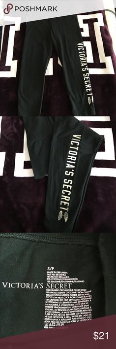 VS Crop Leggings VS Crop Leggings in excellent used condition. Victoria's Secret Pants Leggings