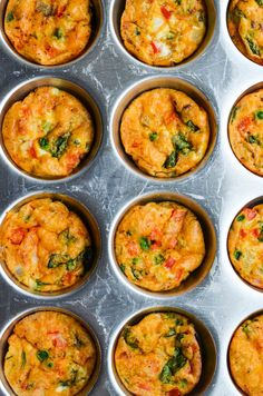 QUICHE MUFFINS from