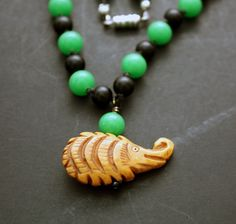 Woodland Pal Necklace by CraftyHope, $30.25