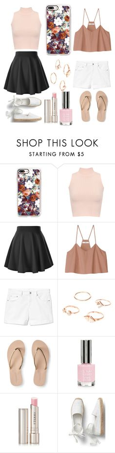 """""""It's Friday!!"""" by mainlydisney on Polyvore featuring Casetify, WearAll, TIBI, Gap, Aéropostale, Topshop and By Terry"""