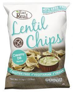 Linsen Chips Creamy Dill - glutenfrei