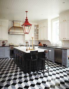 25 cuisines qui font place à la couleur - Maison et Demeure