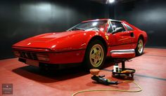 Detailing Ferrari