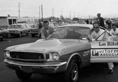 Les Ritchey and his '65 Mustang