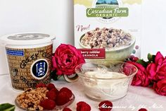 This is the Best Yogurt, Greek Gods Yogurt Best Greek Yogurt, Greek Gods, Lunch Time, Recipe Of The Day, Cobbler, Parfait, Granola, Breakfast Recipes, Oatmeal