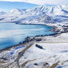 "Lake Tekapo, New Zealand by Rachel Gillespie (@rachelgillespienz) on Instagram: ""@roundhillnz goals coming soon "" #laketekapoNZ #googleguides"
