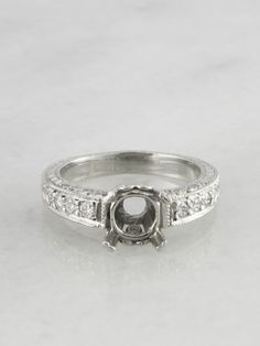 Taylor Platinum Engagement Ring