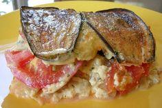 Baked Eggplant-feta Casserole Recipe