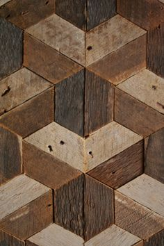Reclaimed Wood Wall Art Decor Lath Pattern от EleventyOneStudio