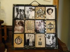 This goes with the one I made of my dad's pictures.  Tribute to mom.