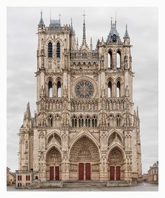 Yossi Milo Gallery, Markus Brunetti, Amiens, Cathédrale Notre-Dame, 2009–2016, at Photo London 2016 www.photolondon.org