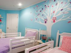 Twin Bedroom Ideas a shabby chic bedroom for twin girls | ava's shabby chic bedroom