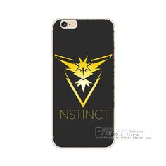 Game Pokemons Go Pokeball Team Valor Team Mystic Team Instinct Soft TPU Case Cover For iphone 5 5S SE 5C 6 6S 7 Plus Coque
