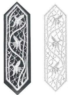 Bobbin Lace Patterns, Loom Patterns, Hairpin Lace Crochet, Crochet Edgings, Crochet Motif, Crochet Shawl, Lace Jewelry, Lace Earrings, Fabric Stiffener